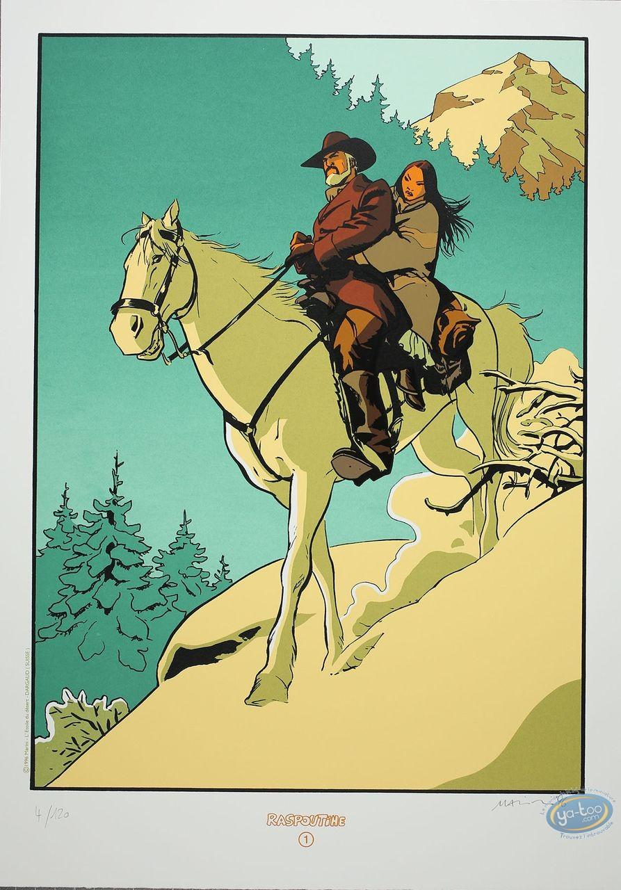 Affiche Sérigraphie, Etoile du Désert (L') : A cheval