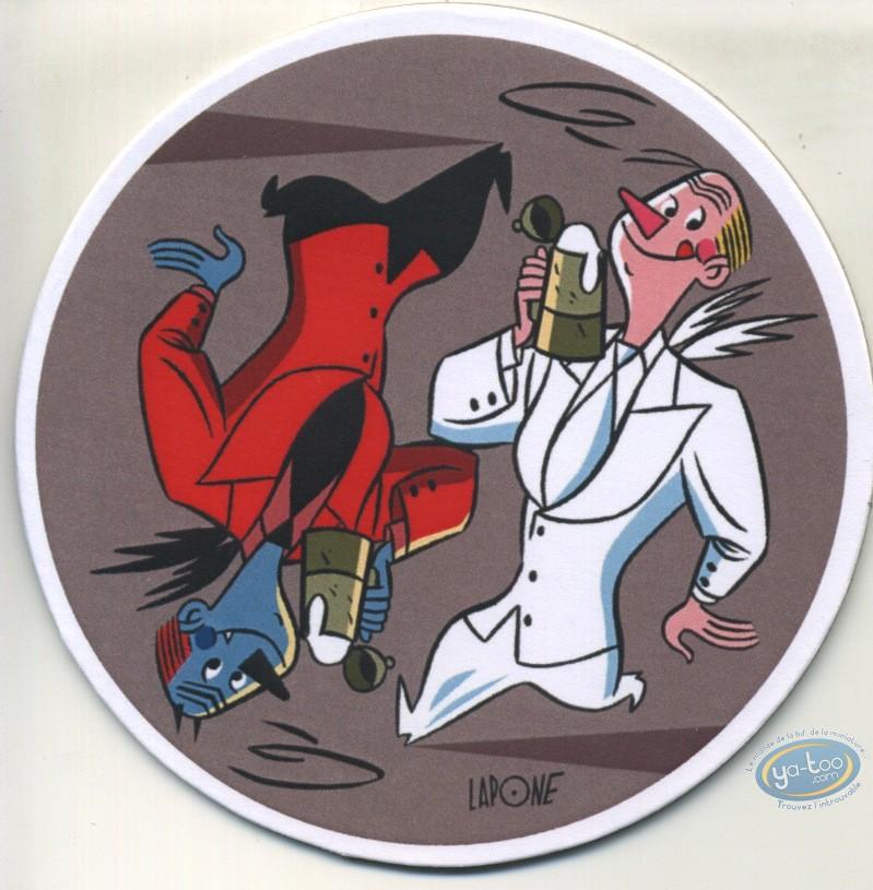 Etiquette de Vin, Sous-bocks 2 (Bessadi,...)