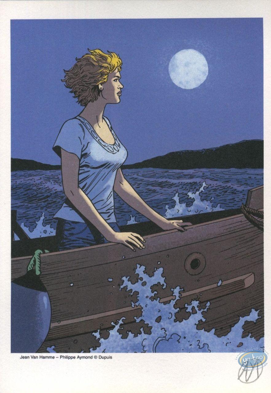 Ex-libris Offset, Lady S : Clair de lune