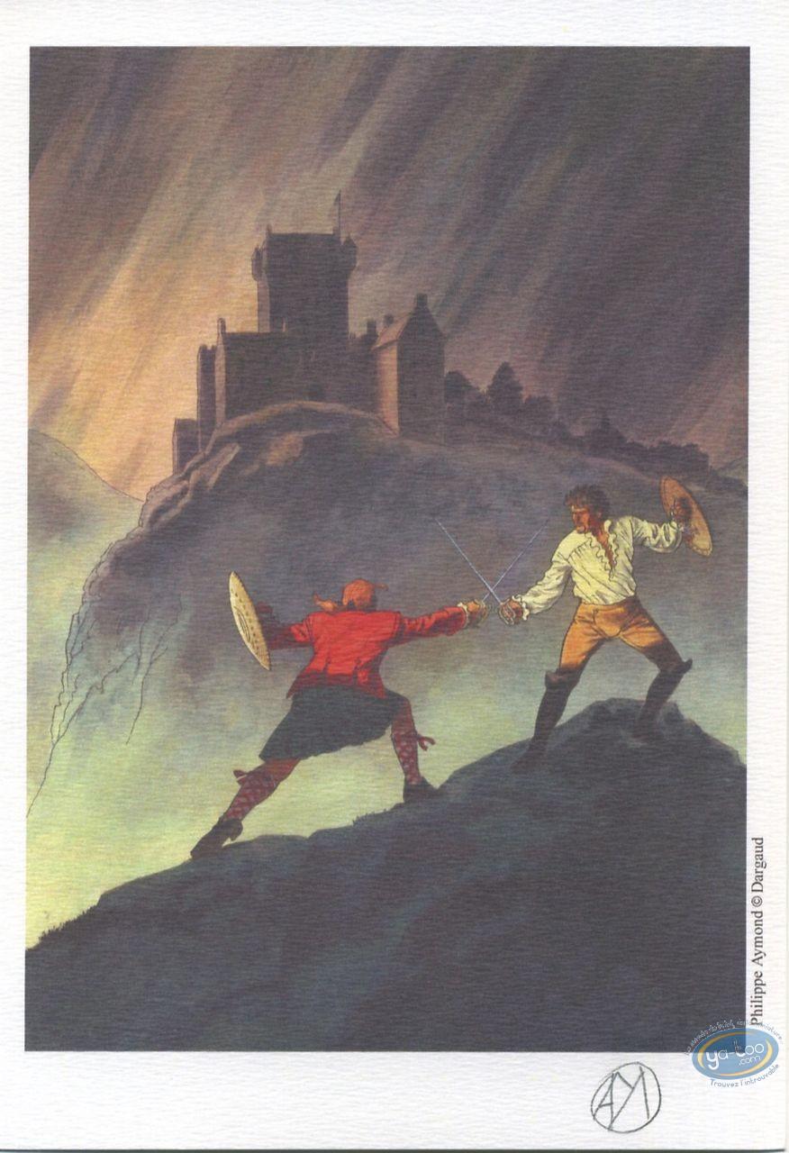 Ex-libris Offset, Highlands : Combat