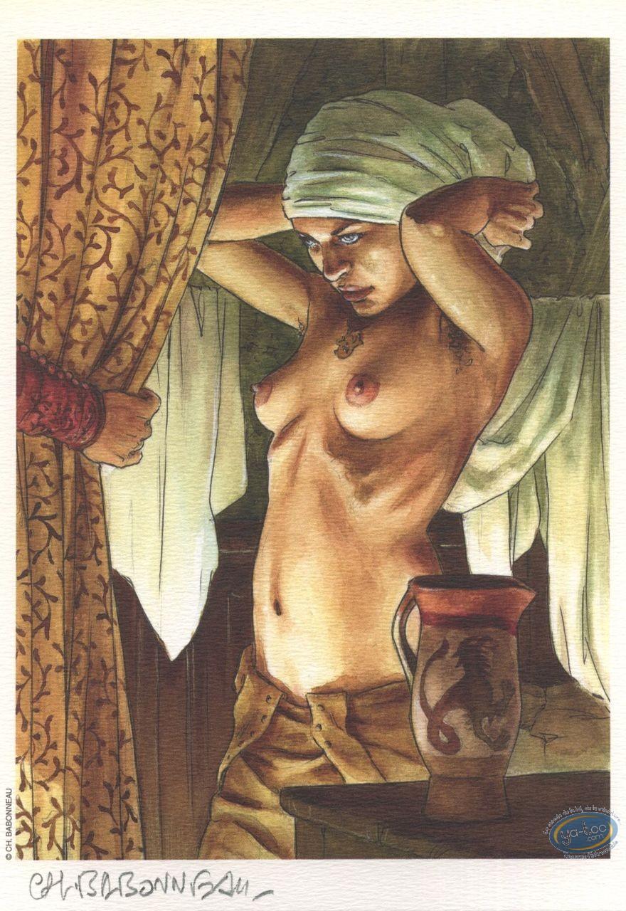 Ex-libris Offset, Légende de la Mort (La) : Femme