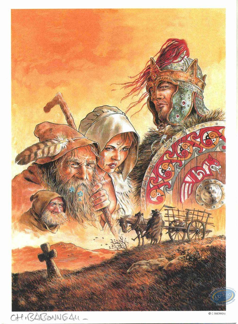 Ex-libris Offset, Légende de la Mort (La) : La légende de la mort