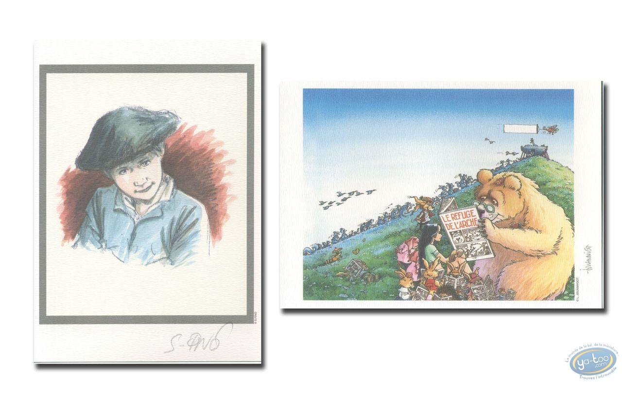 Ex-libris Offset, Chasseurs d'Ecume (Les) : Portrait - Refuge de l'Arche