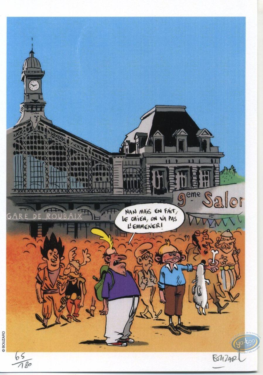 Ex-libris Offset, Titeuf : Salon de la BD