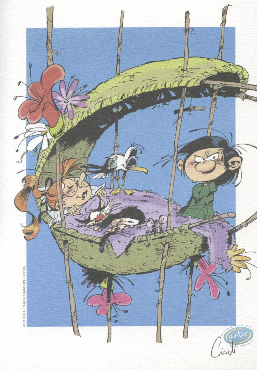 Ex-libris Offset, Hommage : Coicault, Hommage à Gaston