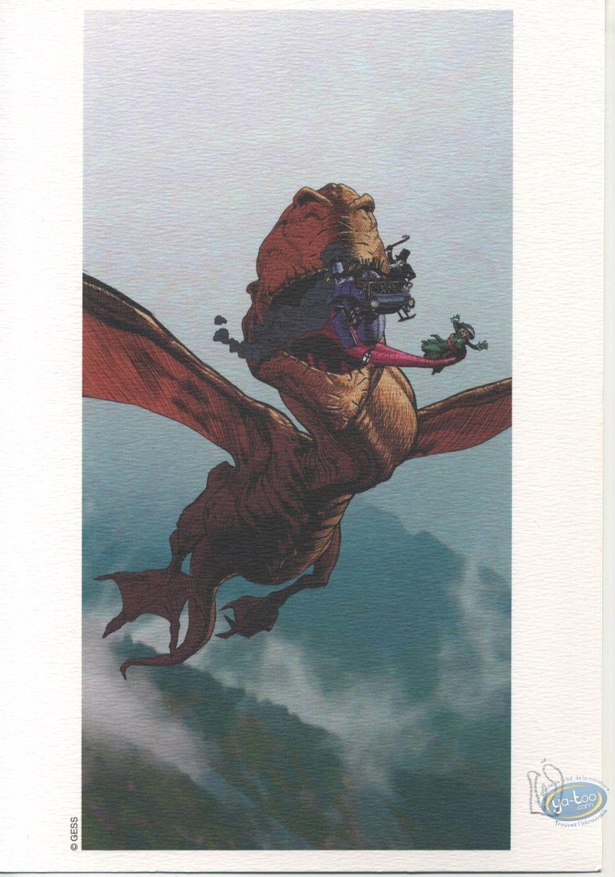Ex-libris Offset, Dragon volant