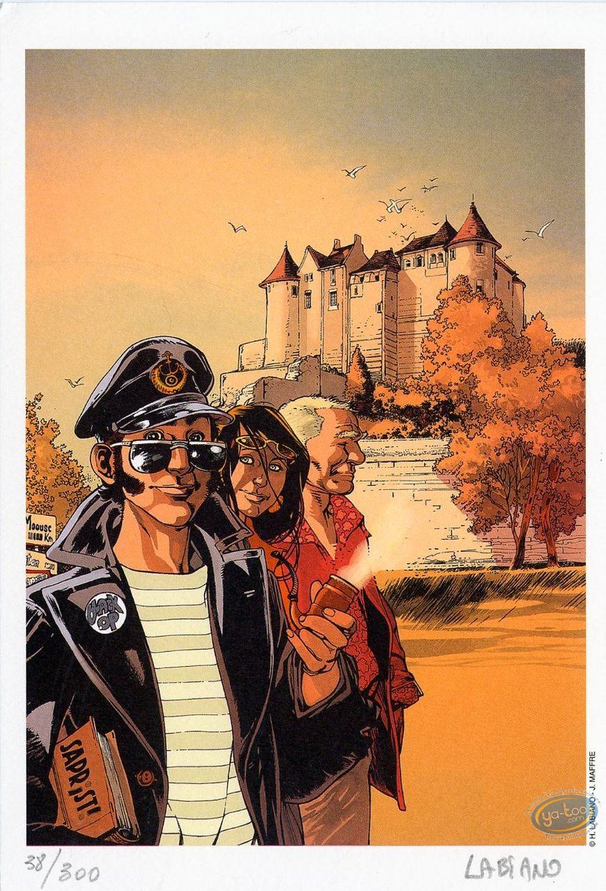 Ex-libris Offset, Black Op : Château