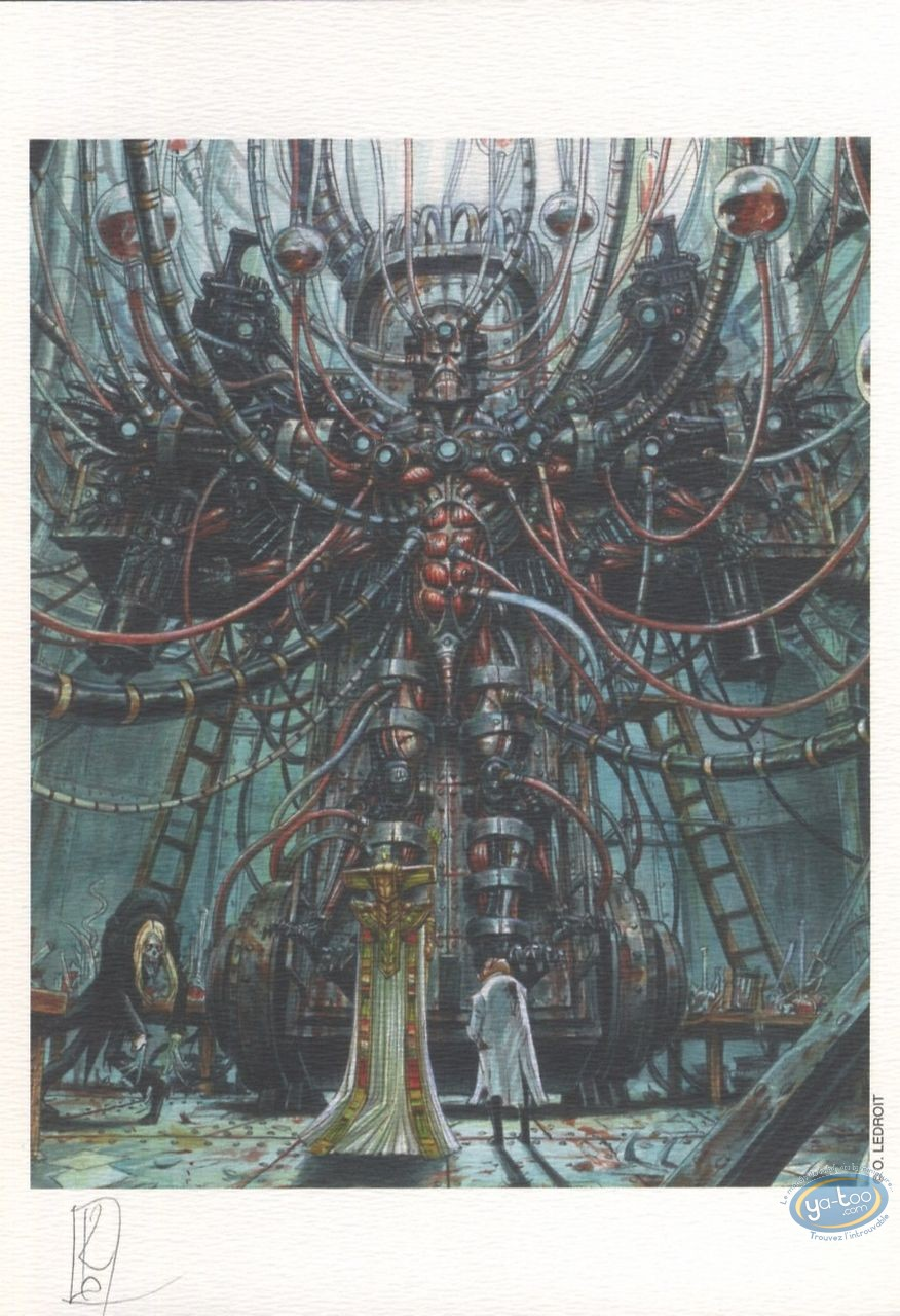 Ex-libris Offset, Requiem : La machine