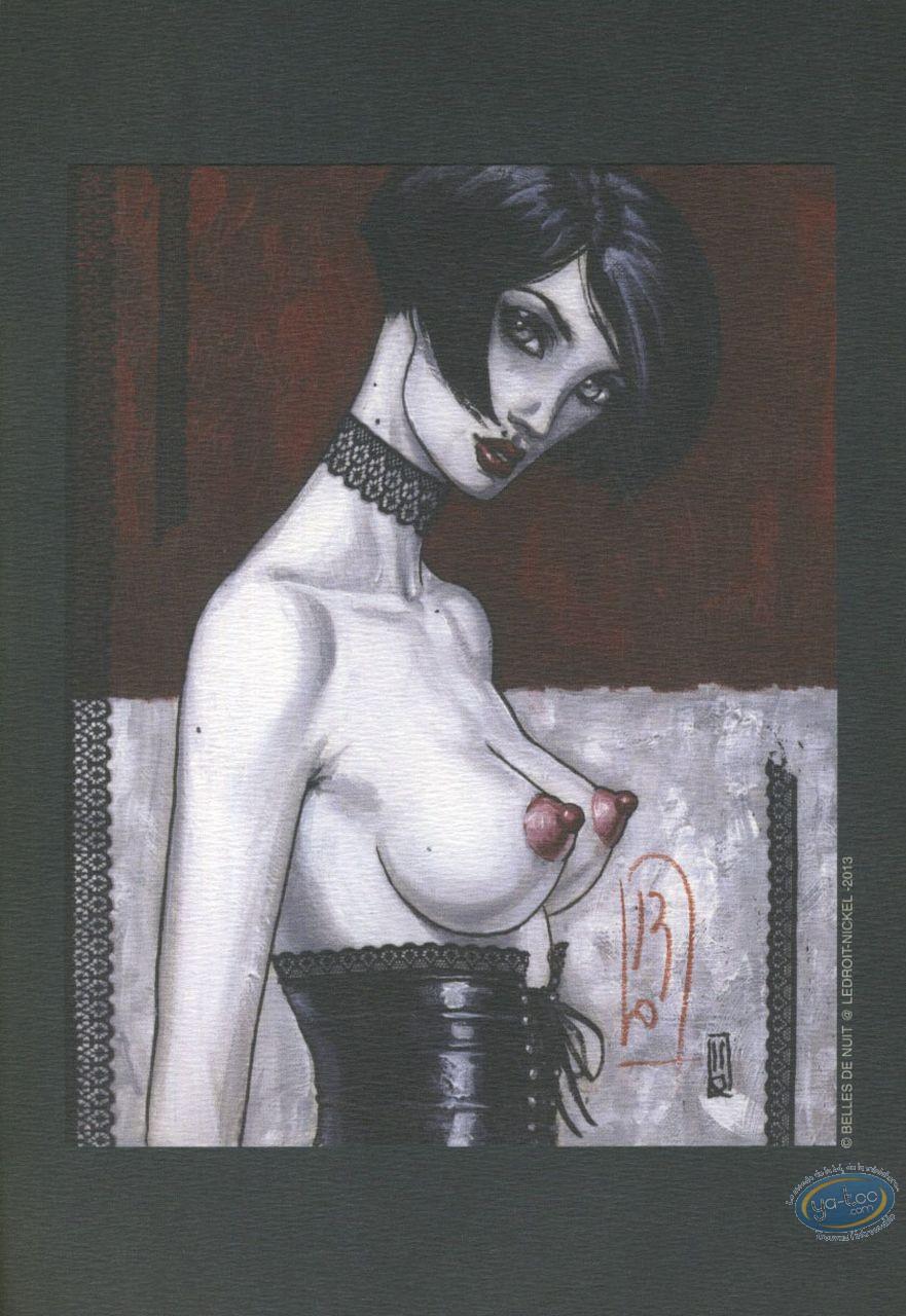 Ex-libris Offset, Belles de Nuit : Buste de Femme