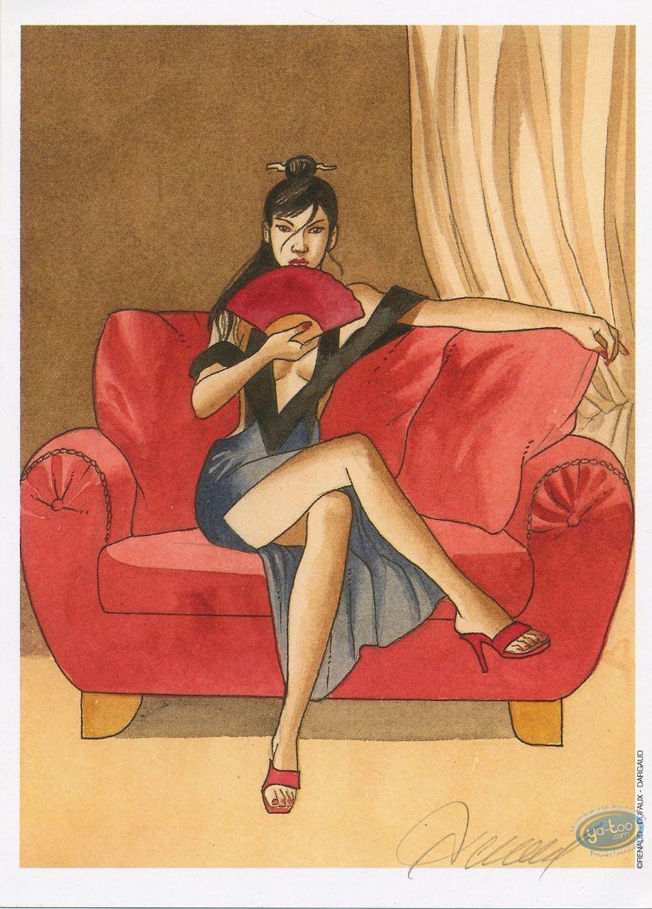 Ex-libris Offset, Vénus H : Canapé rouge