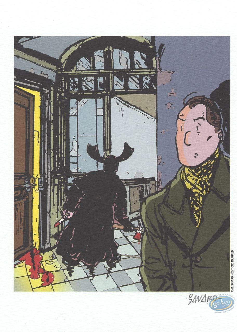 Ex-libris Offset, Dick Hérisson : Dick Hérisson et l'ombre