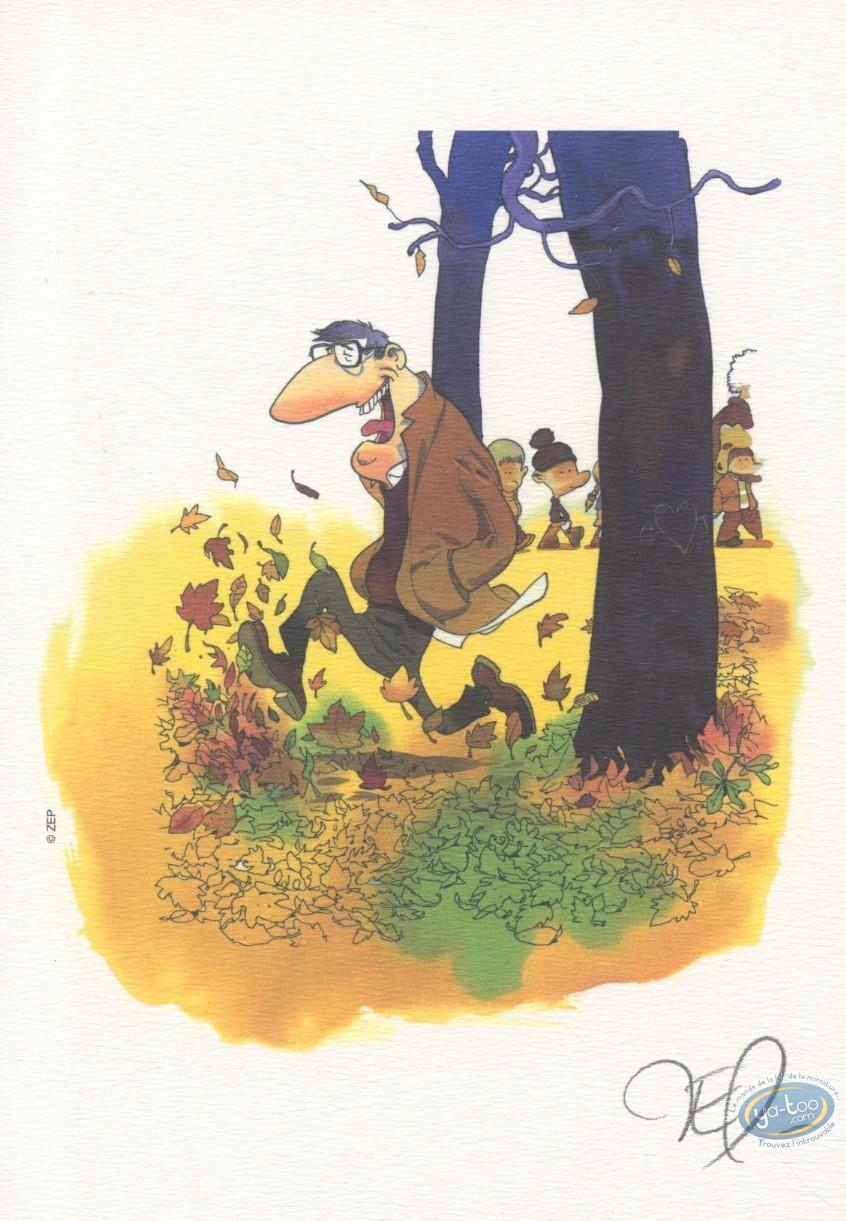 Ex-libris Offset, Hommage : Zep, Hommage à Franquin