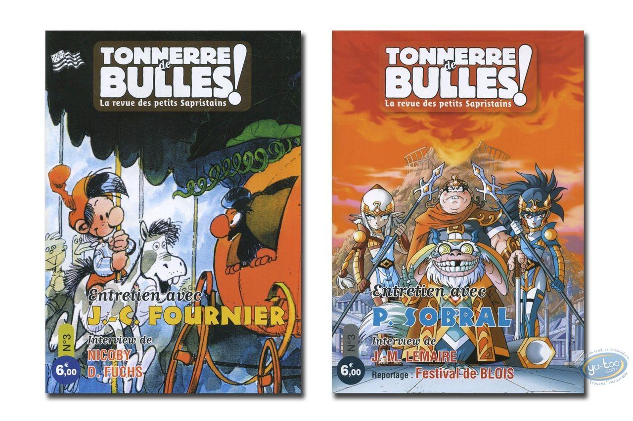 Monographie, Tonnerre de Bulles : Fournier, Sobral, Lemaire, Nicoby, Fuchs