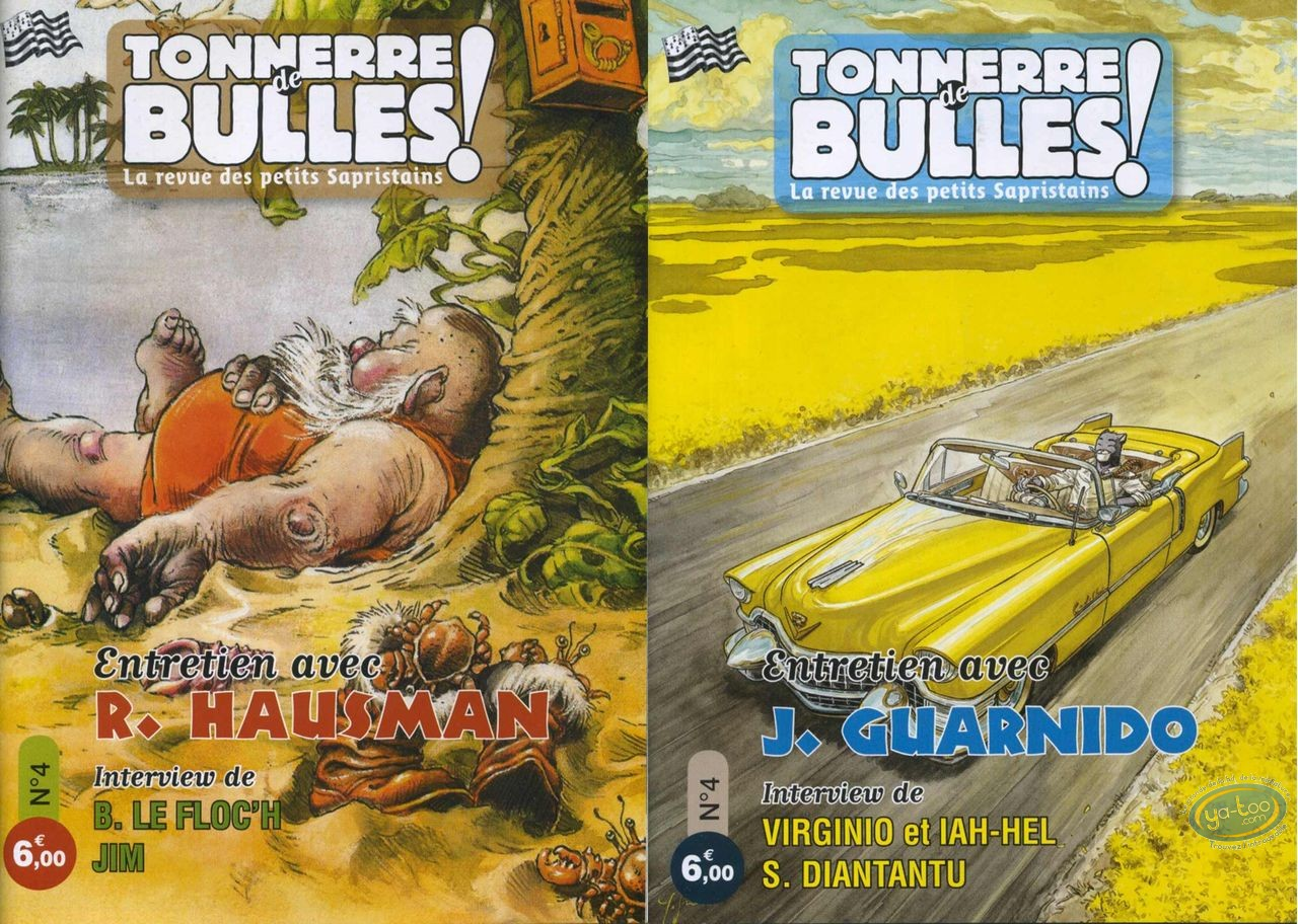 Monographie, Tonnerre de Bulles : Guarnido, Hausman, Le Floc'h, Jim, Virginio, Diantantu