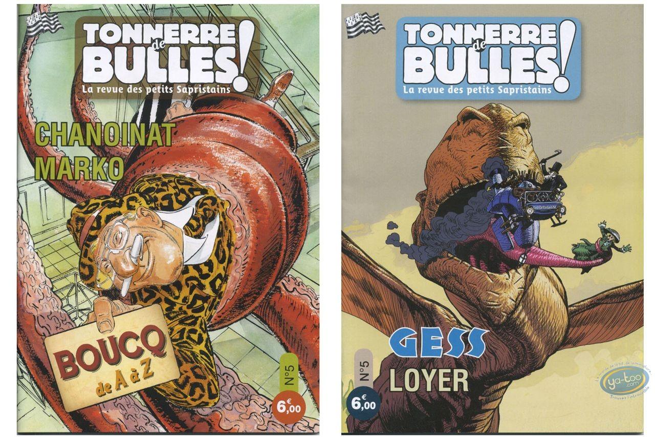 Monographie, Tonnerre de Bulles : Boucq, Guess, Loyer, Marko, Chanoinat
