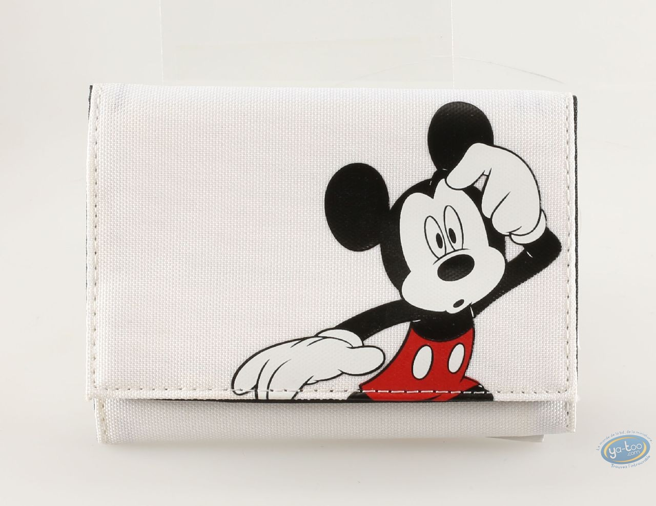 Bagagerie, Mickey Mouse : Portefeuille Mickey blanc