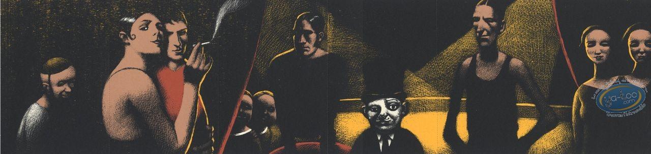 Ex-libris Sérigraphie, Cirque
