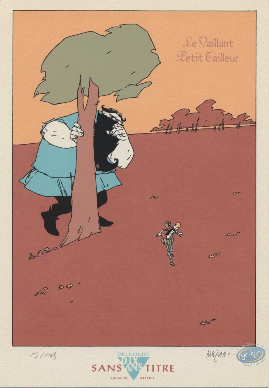 Ex-libris Sérigraphie, Vaillant Petit Tailleur (Le) : Géant