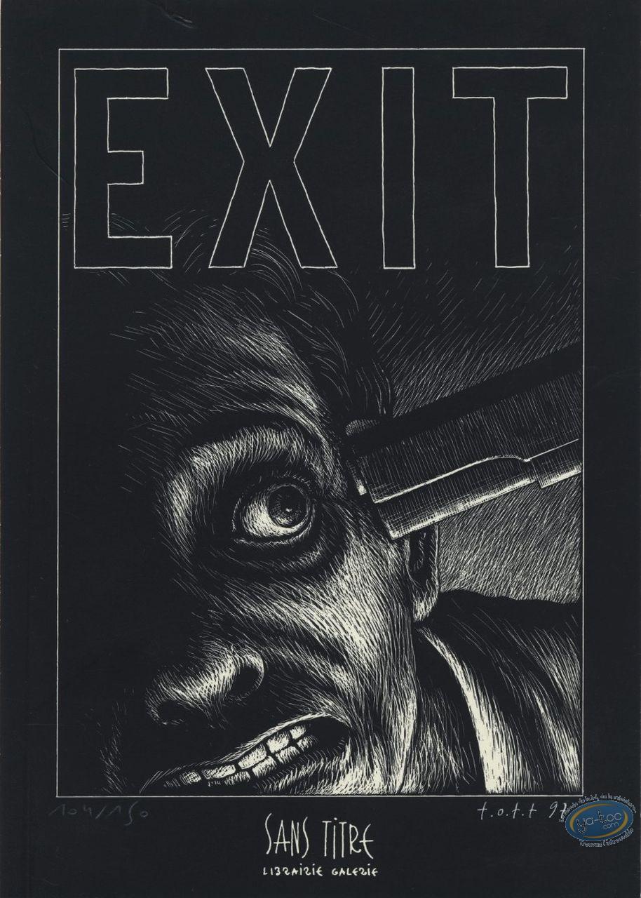 Ex-libris Offset, Ott, Exit