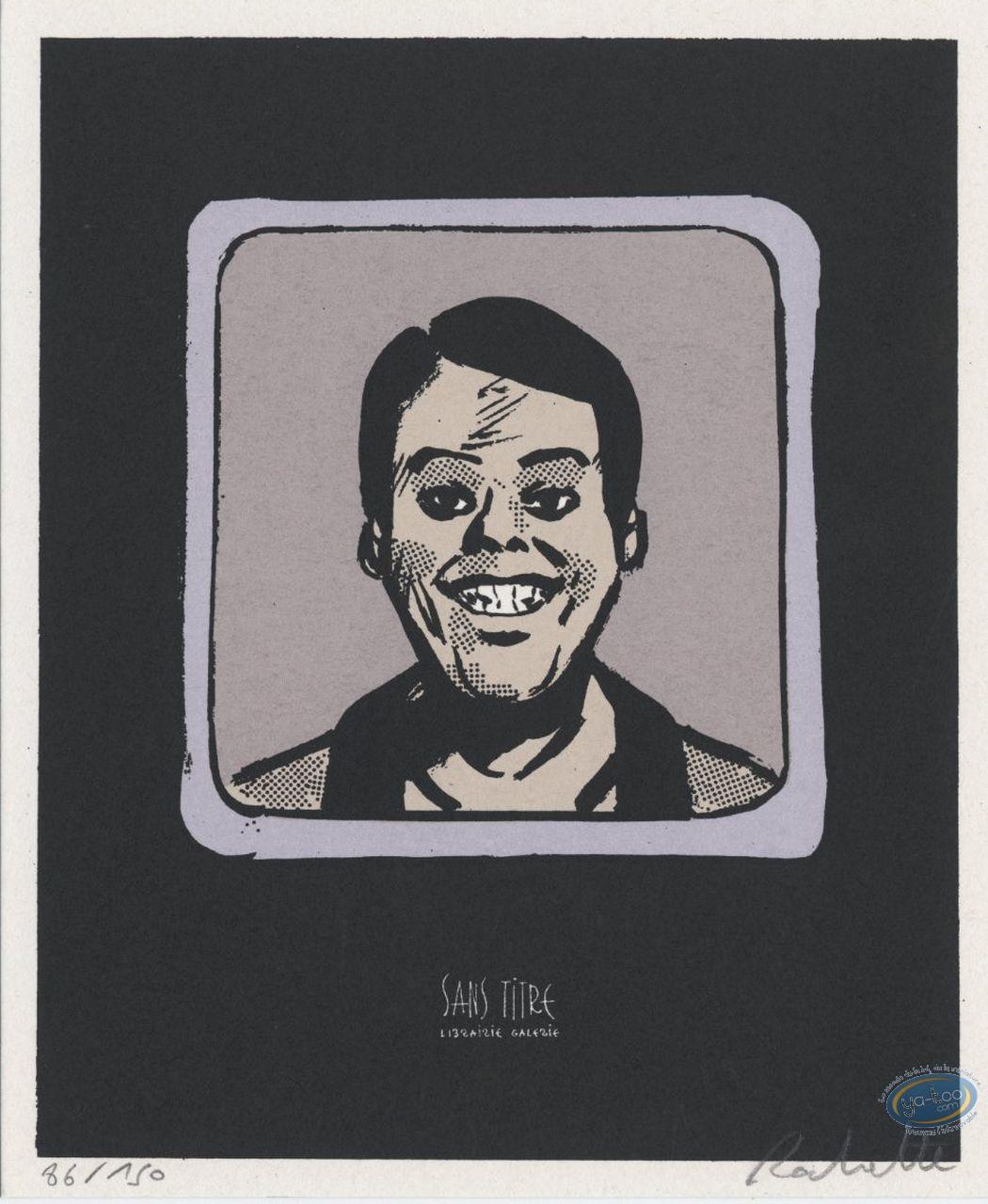 Ex-libris Sérigraphie, Transperceneige (Le) : Sourire