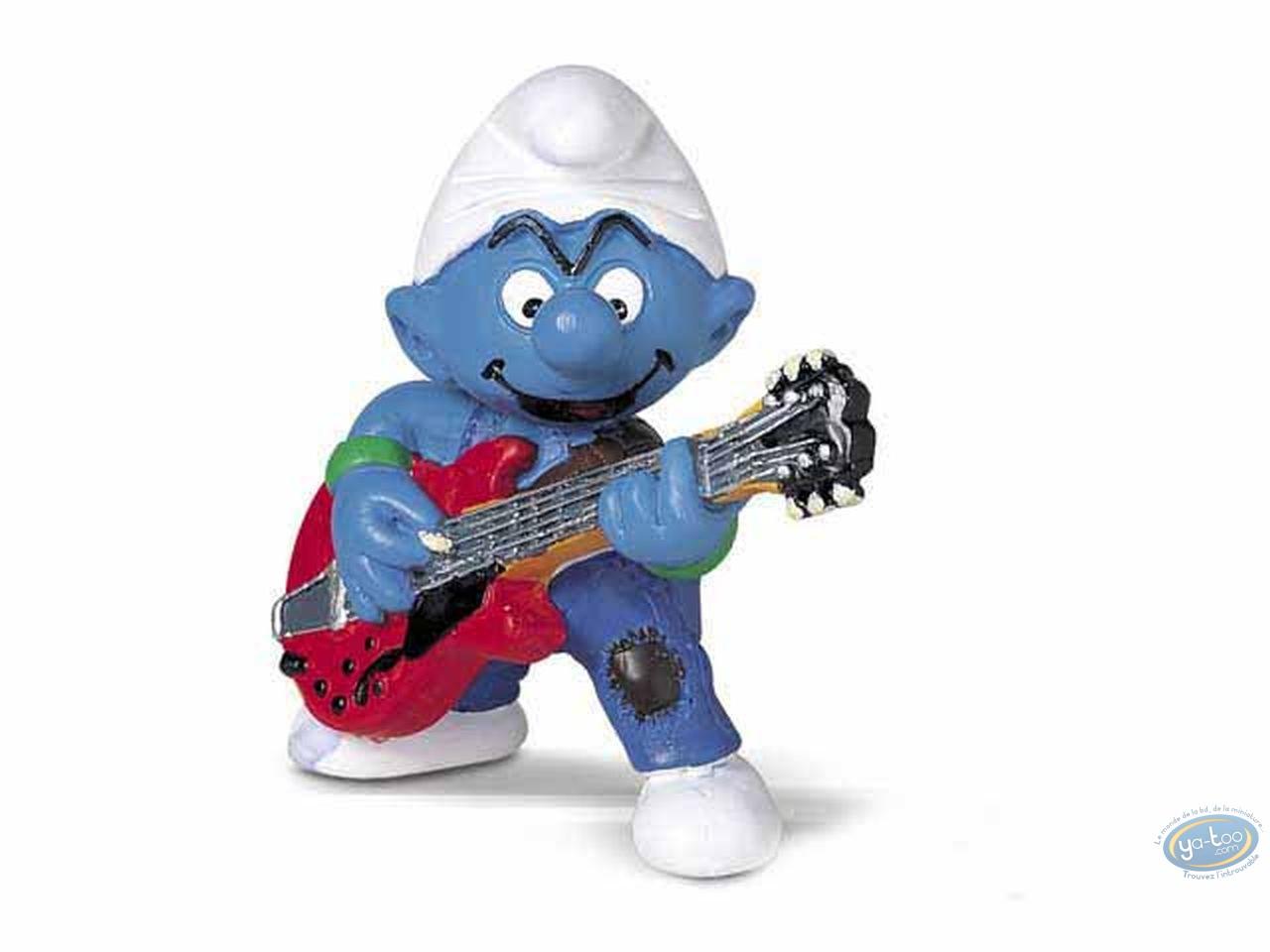Figurine plastique, Schtroumpfs (Les) : Schtroumpf guitariste