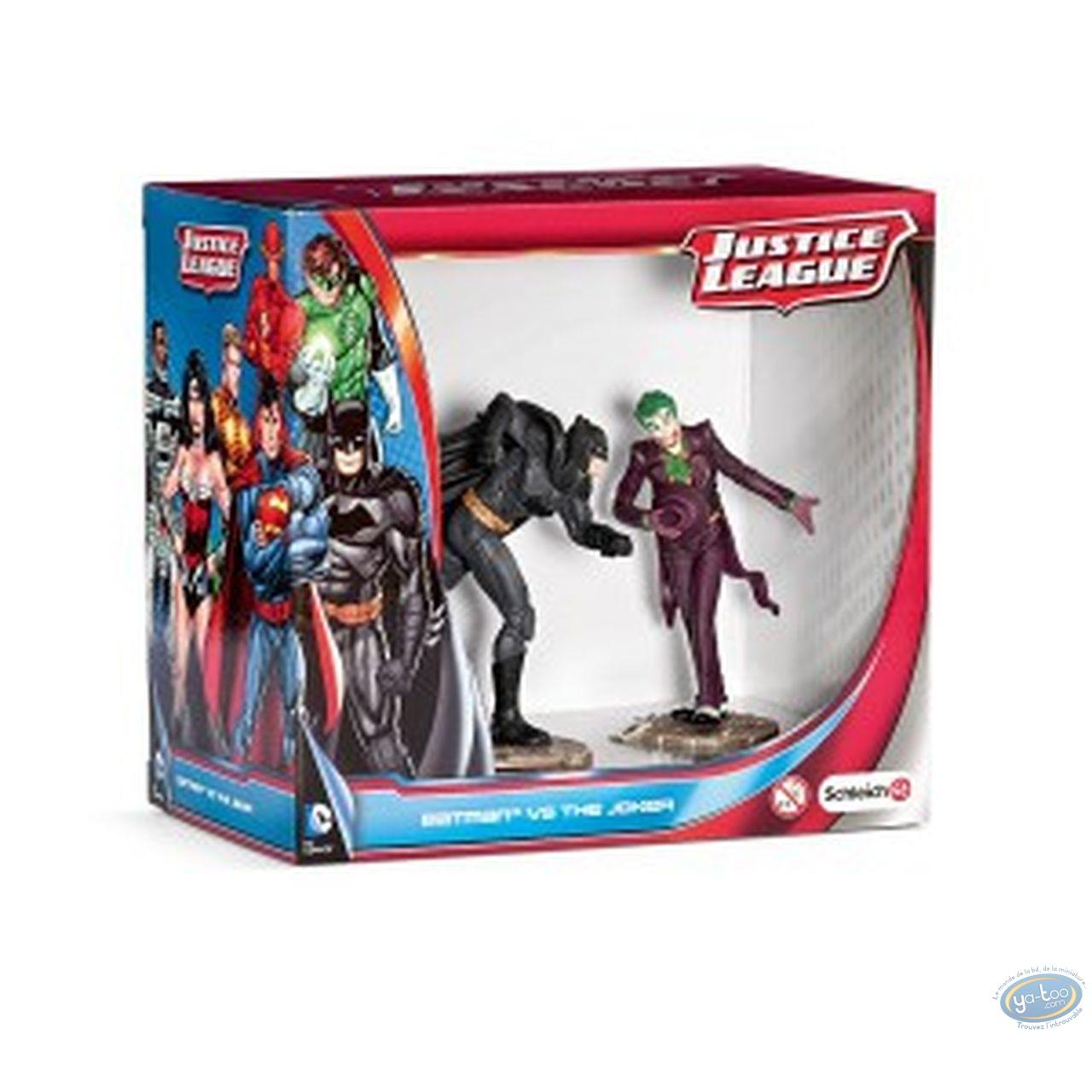 Statuette PVC, Superman : Scène Batman Vs Joker