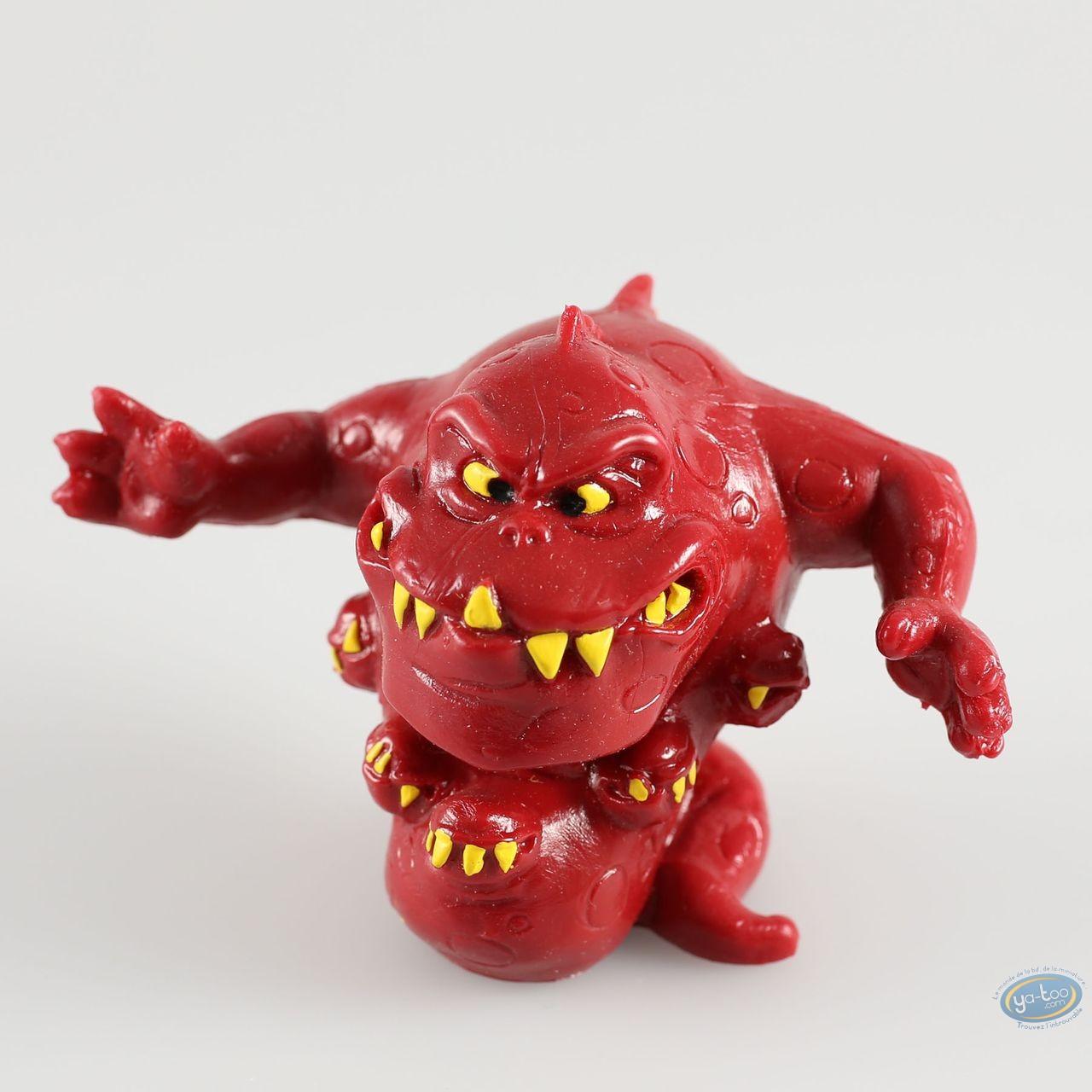 Figurine plastique, Snorkies (Les) : Fang' monstre rouge