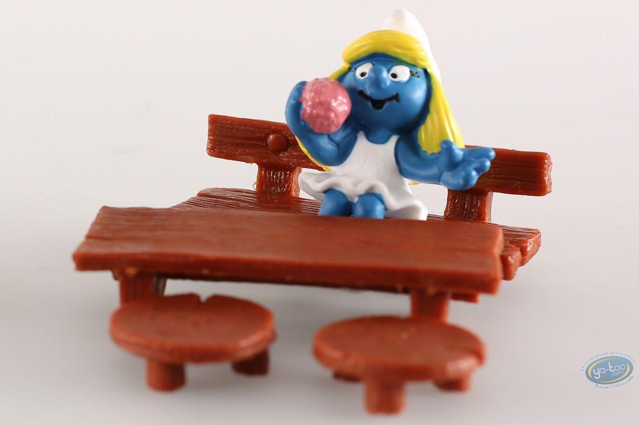 Figurine plastique, Schtroumpfs (Les) : Schtroumpfette vanity
