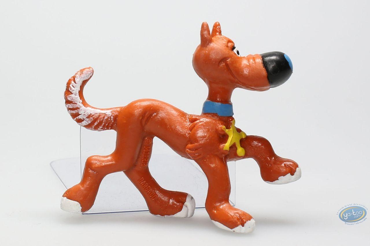 Figurine plastique, Lucky Luke : Rantanplan marchant