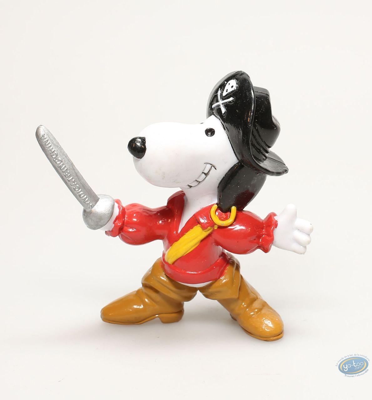 Figurine plastique, Snoopy : Snoopy corsaire
