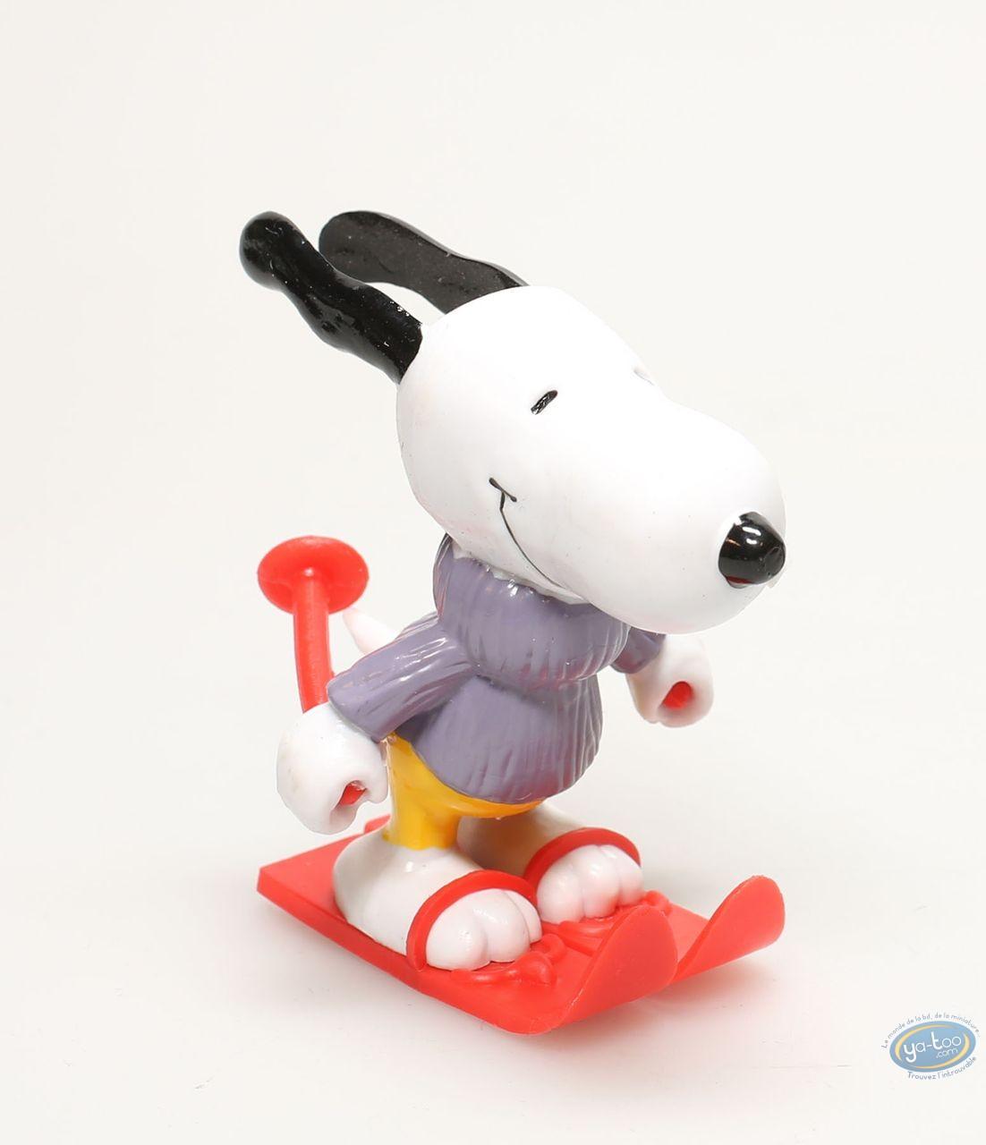 Figurine plastique, Snoopy : Snoopy ski
