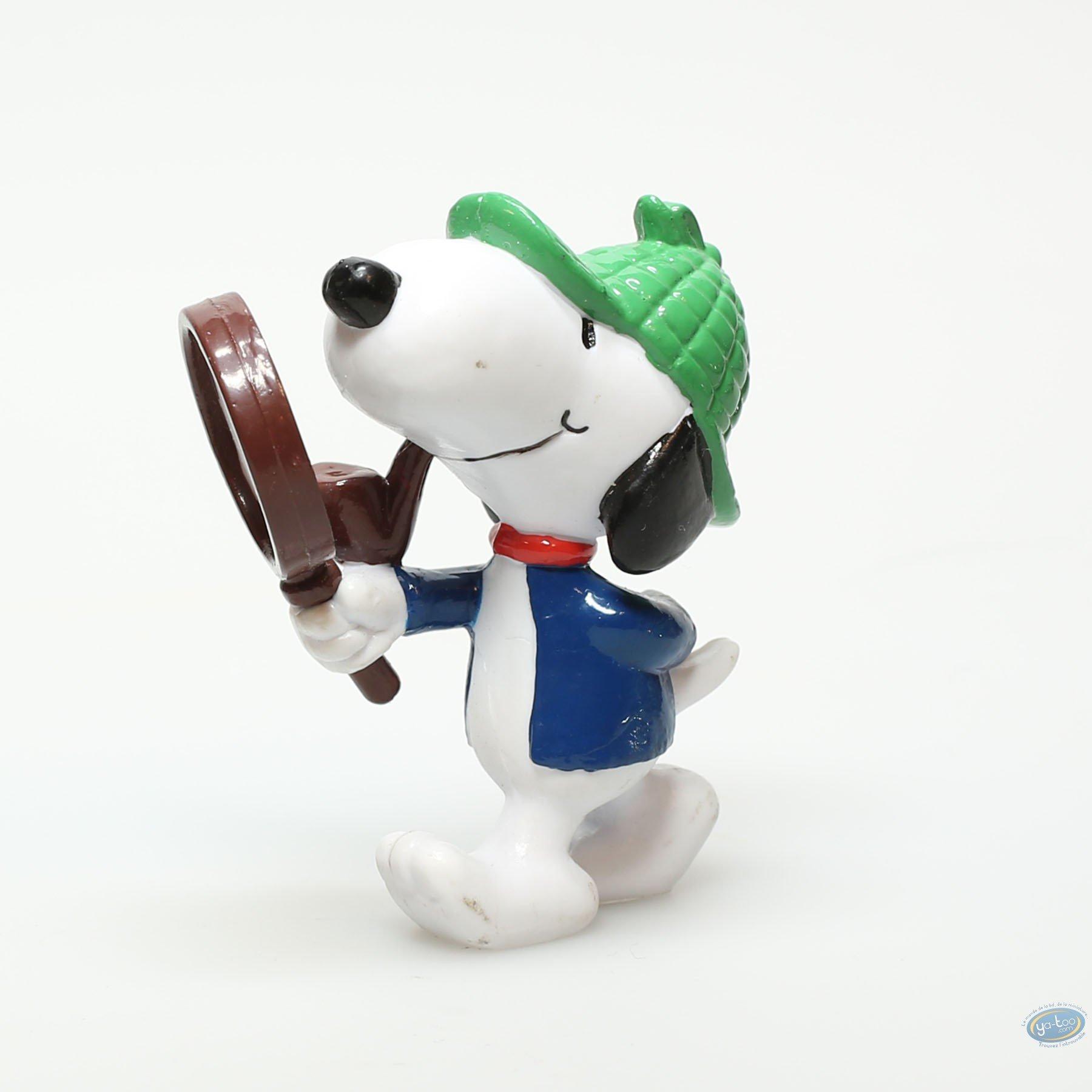 Figurine plastique, Snoopy : Snoopy détective, Sherlock Holmes
