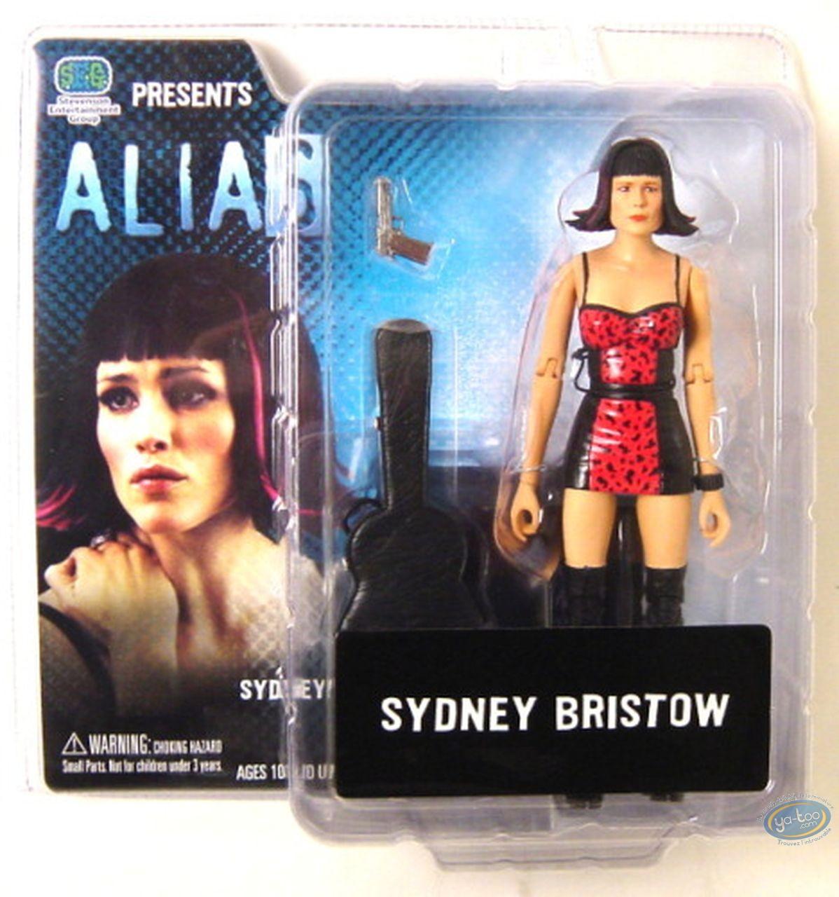 Action Figure, Alias : Sydney Bristow robe rouge