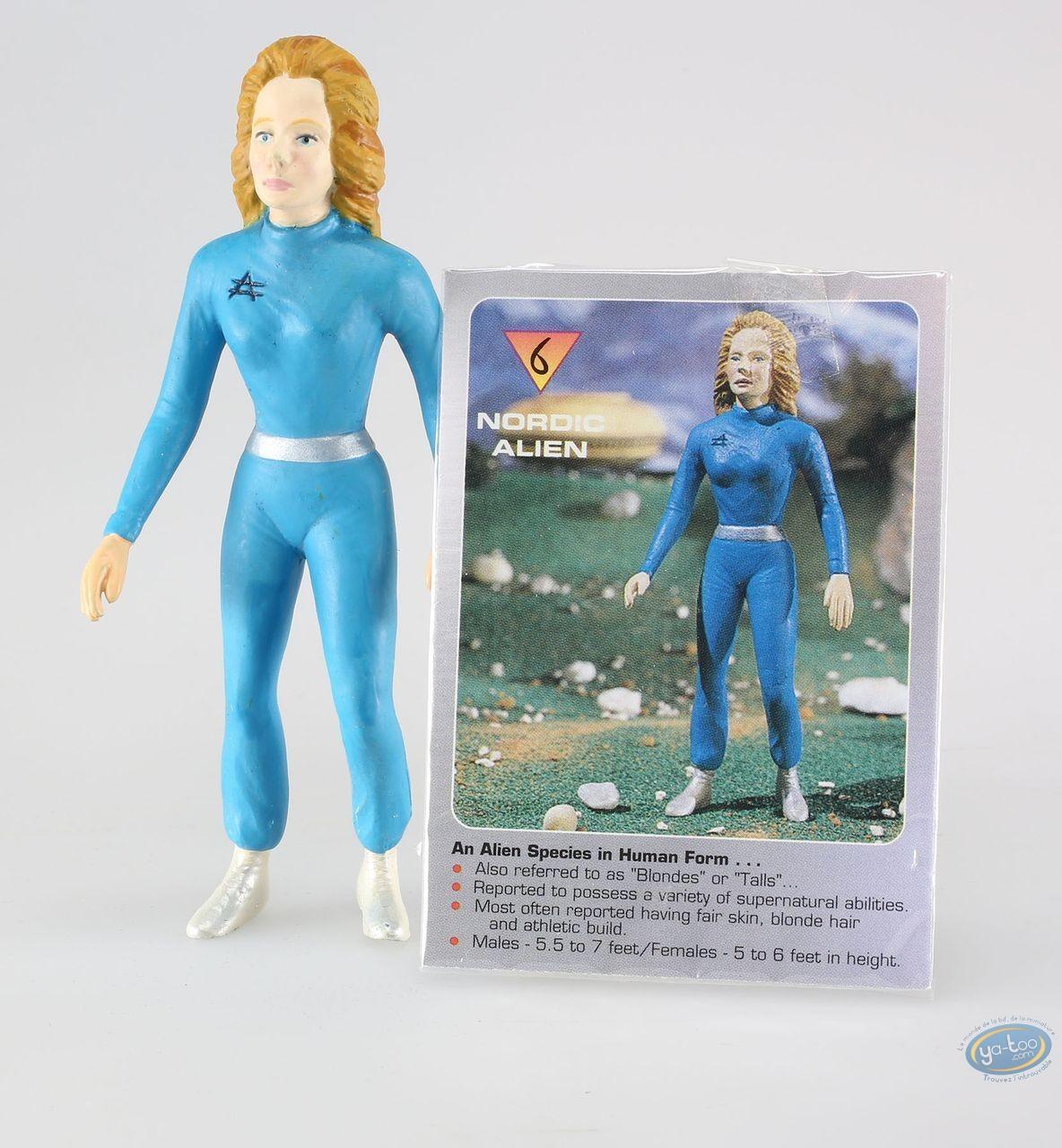 Figurine plastique, Alien : Alien nordique + carte à collectionner