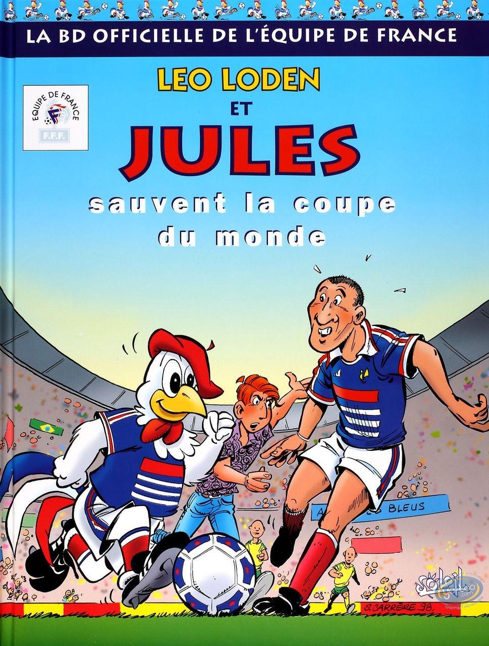 BD occasion, Léo Loden : Leo Loden et Jules sauvent la coupe du monde