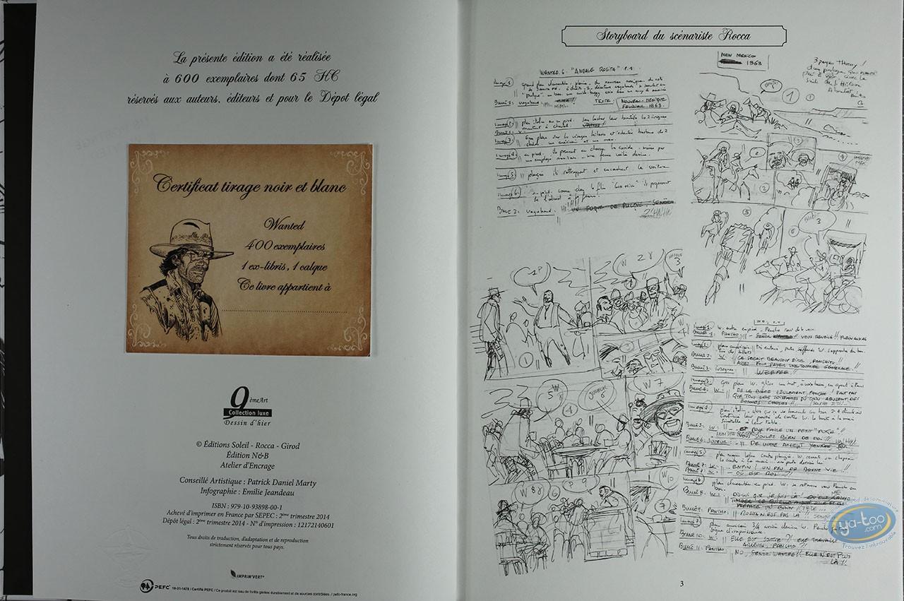 Album de Luxe, Wanted : Andale Rosita (Dédicace 2)
