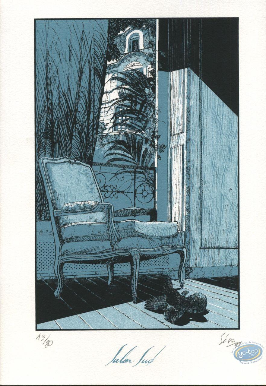 Ex-libris Sérigraphie, Antichambre de la nuit : Séra, Antichambre de la nuit
