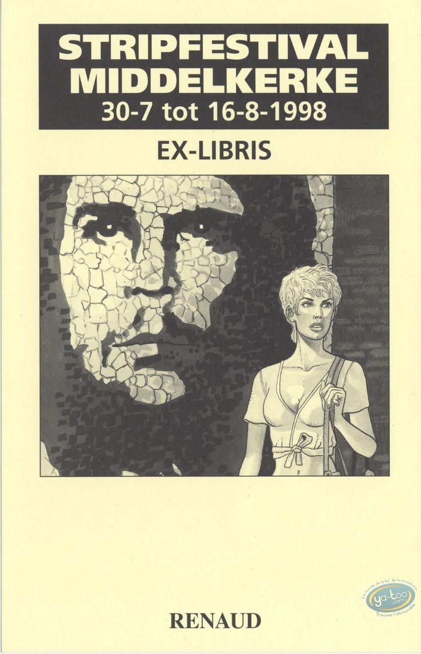 Ex-libris Offset, Jessica Blandy : Renaud, Jessica Blandy et Fidel