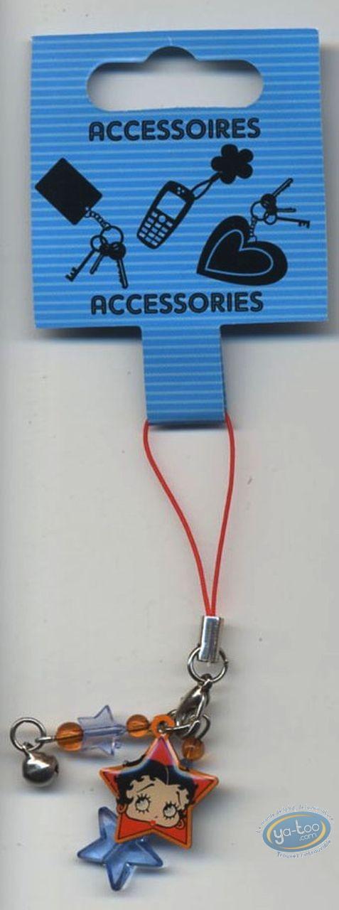 Accessoire GSM, Betty Boop : Pendentif GSM : Betty Boop 'Mini'