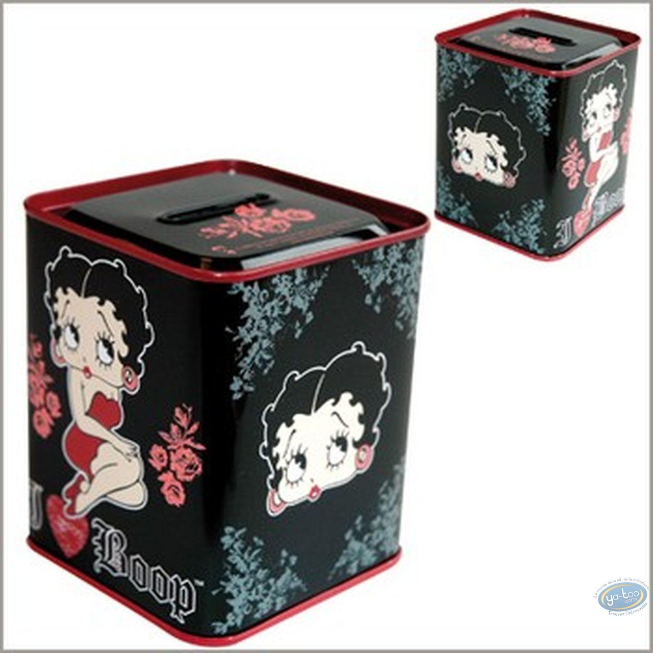 Tirelire, Betty Boop : Tirelire Betty Boop (noire)