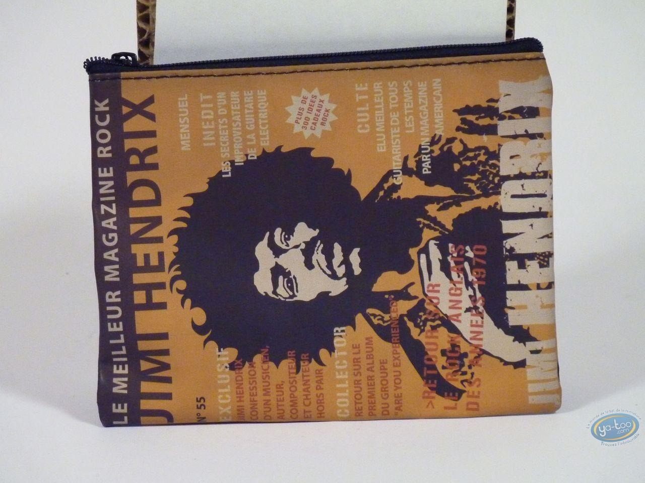 Bagagerie, Jimi Hendrix : Pochette magazine, Jimi Hendrix