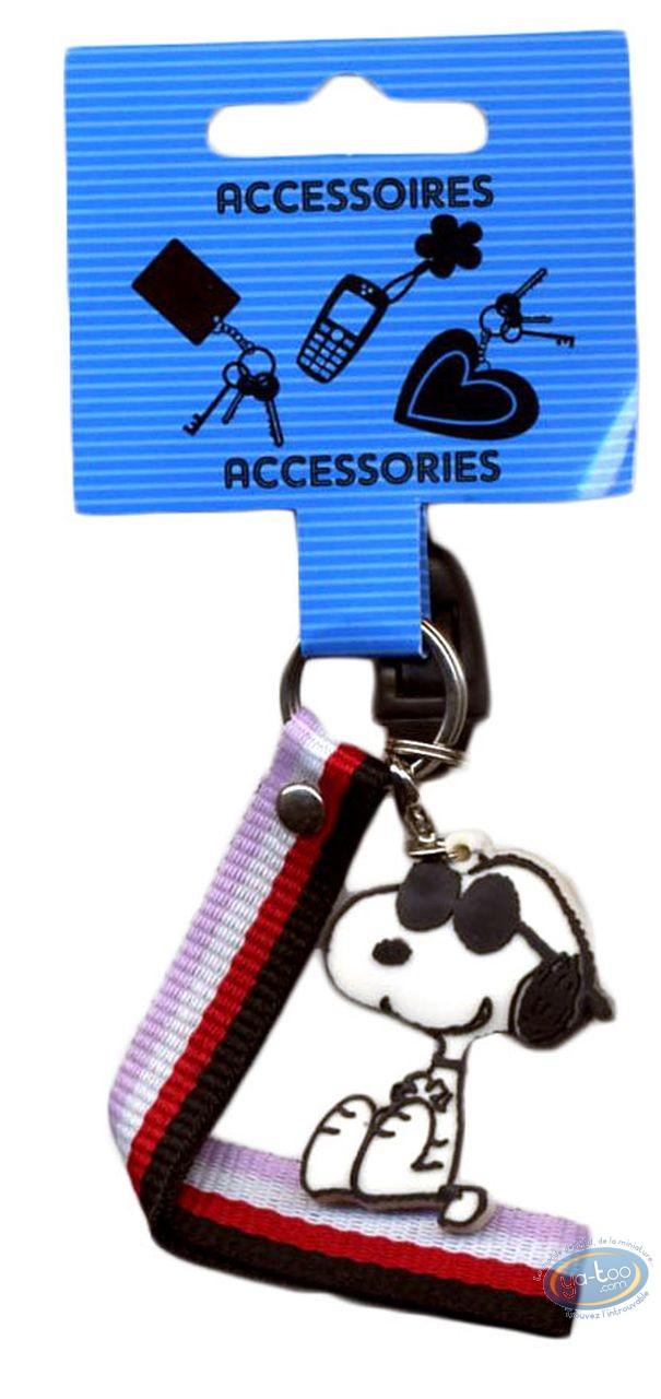 Accessoire GSM, Snoopy : Pendentif PVC pour portable, Snoopy