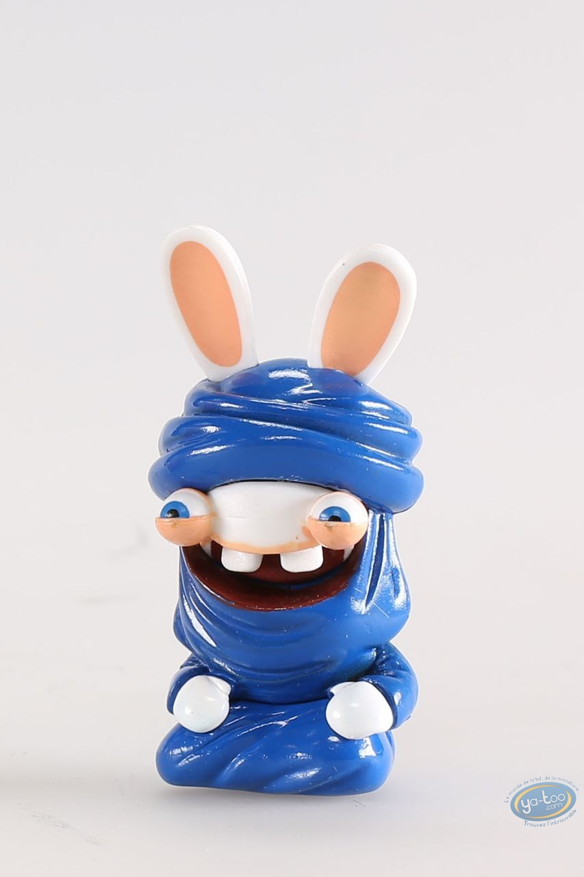 Figurine plastique, Lapins Crétins (Les) : Tunisie (costume bleu désert)