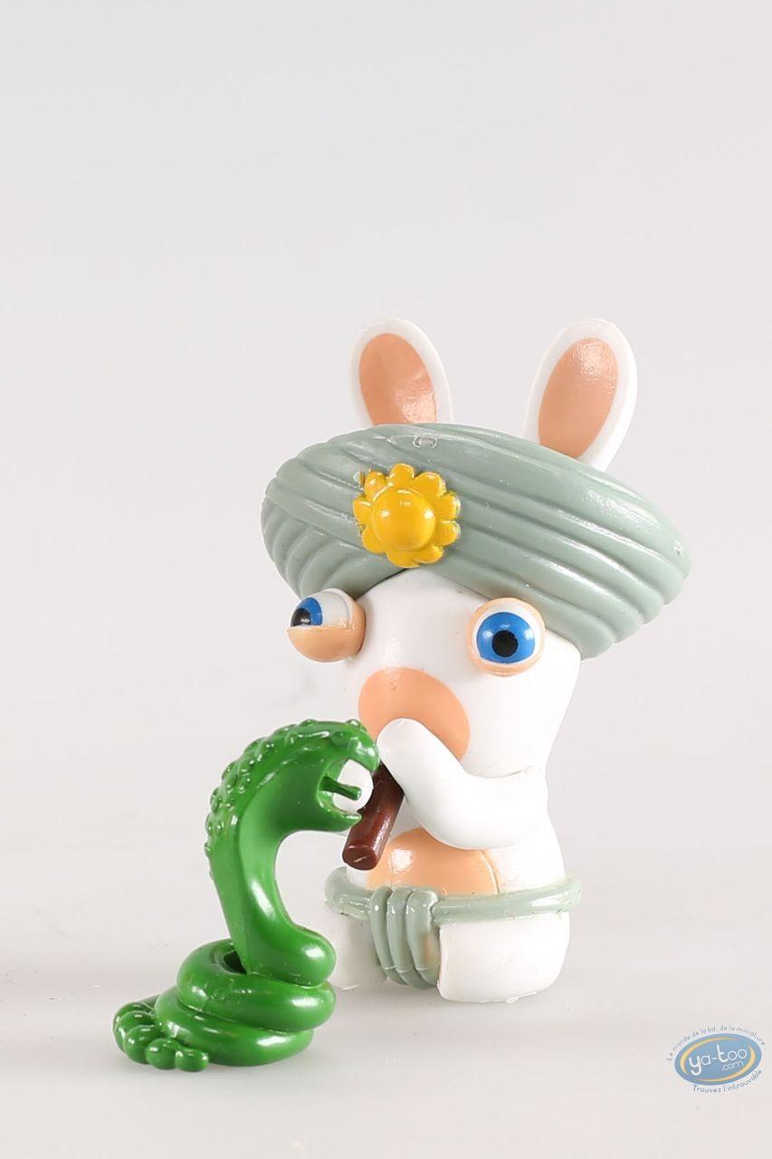 Figurine plastique, Lapins Crétins (Les) : Inde (flûte serpent)