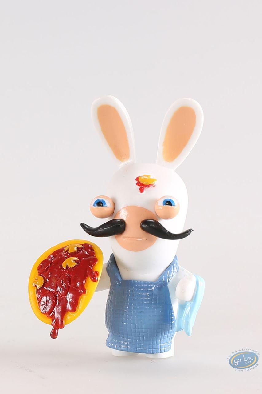 Figurine plastique, Lapins Crétins (Les) : Italie (pizzaiolo)