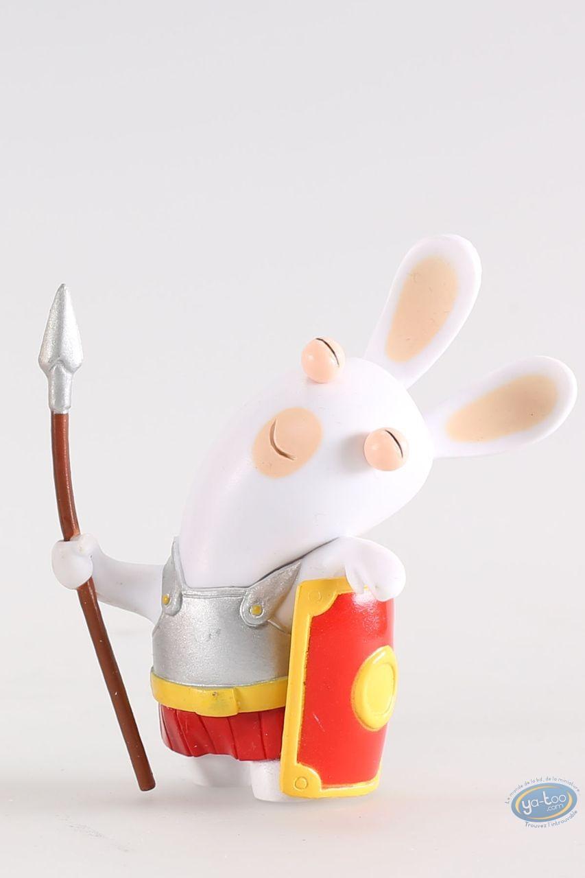Figurine plastique, Lapins Crétins (Les) : Soldat romain (dormeur)