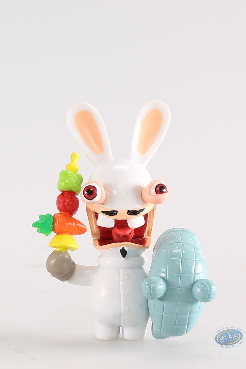 Figurine plastique, Lapins Crétins (Les) : Escrimeur (épée de fruits)