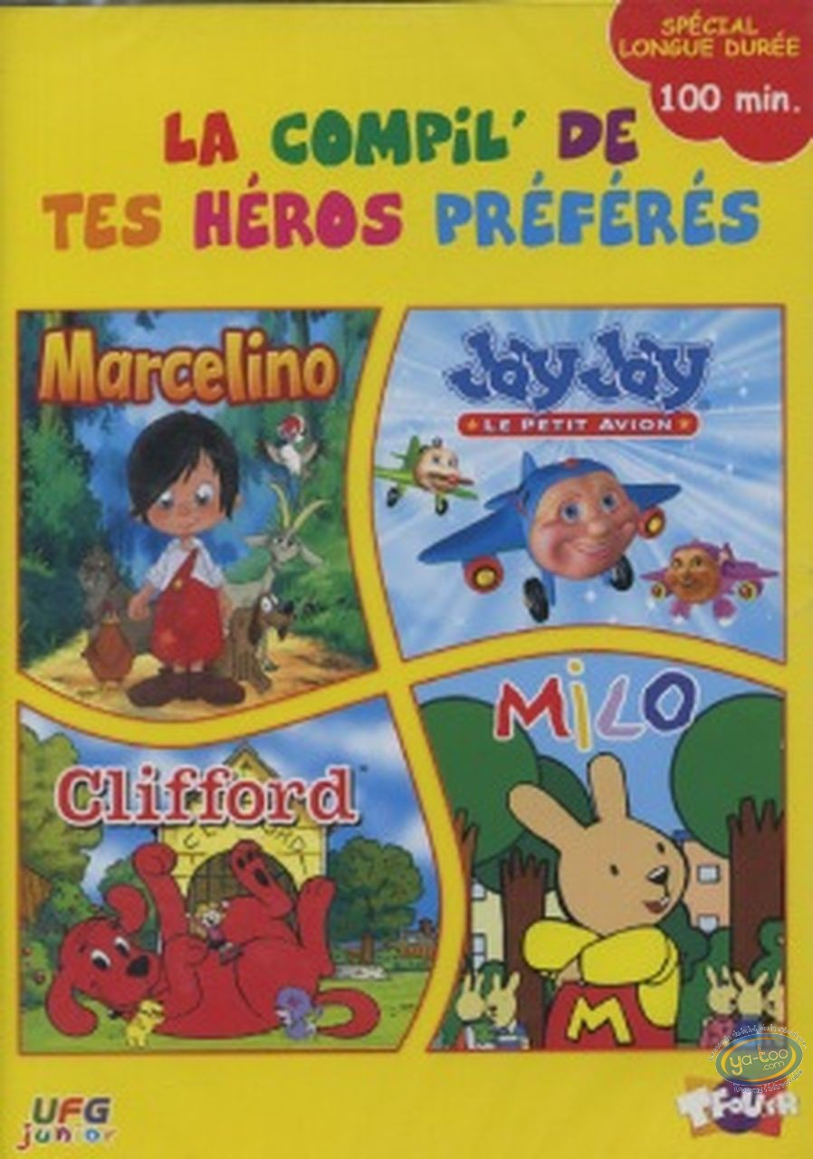 DVD, La compil de tes héros préférés
