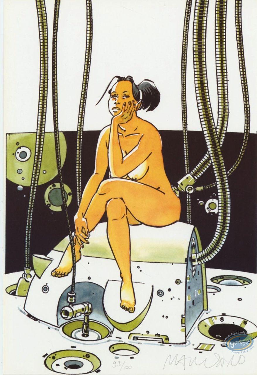 Ex-libris Offset, Guerre Eternelle (La) : Femme assise