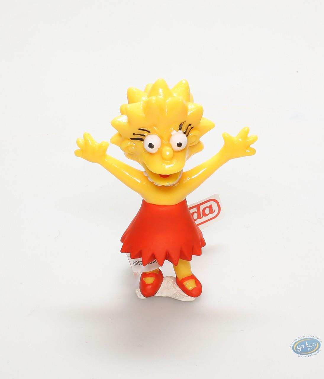 Figurine plastique, Simpson (Les) : Lisa Simpson